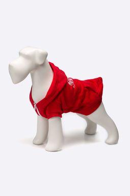 Woman's Bluza dla psa Sunset Blvd czerwona