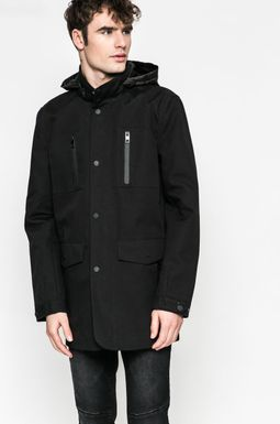 Man's Płaszcz męski czarny