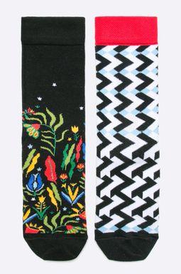 Woman's Skarpetki damskie Comfort Zone (2-pack) multicolor