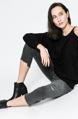 Woman's Jeansy damskie Yoga czarne