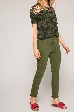 Woman's Jeansy damskie Ergo Soldier zielone