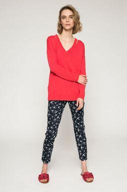 Woman's Spodnie damskie Basic granatowe