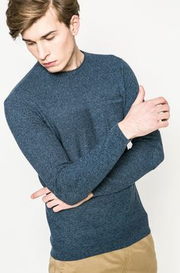 Man's Sweter męski City Rhythmes niebieski