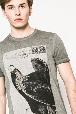 Man's T-shirt męski Utility szary