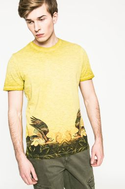 Man's T-shirt męski Utility żółty