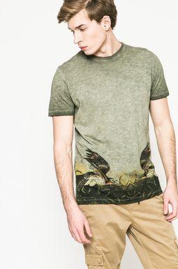 Man's T-shirt męski Utility zielony