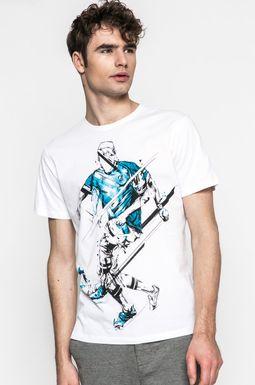Man's T-shirt męski Slow Future biały