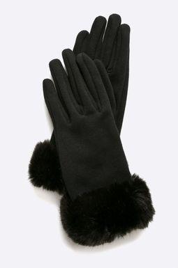 Woman's Rękawiczki damskie A_Rebel Forest czarne