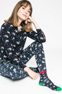 Woman's Spodnie damskie Xmas multicolor