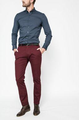 Man's Spodnie męskie Nocturnal karminowe