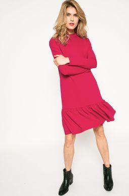 Woman's Sukienka damska Dark Bloom różowa