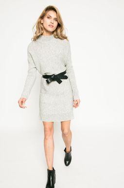 Woman's Sweter damski Dark Bloom szary