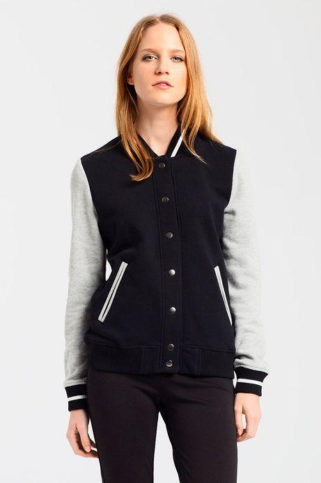 Woman's Bluza  czarna