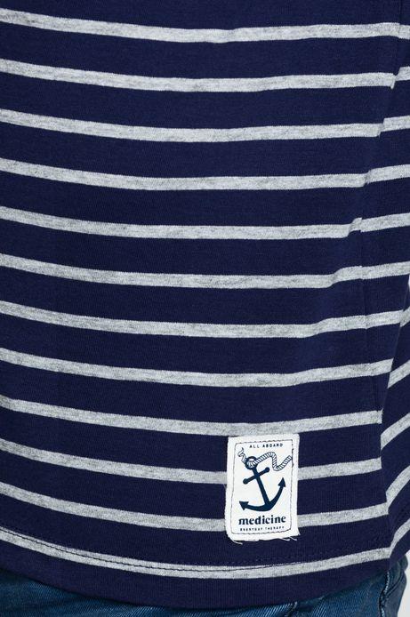 Man's T-shirt  niebieski
