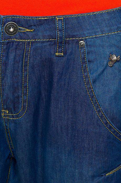 Woman's Jeansy Postmodern niebieskie