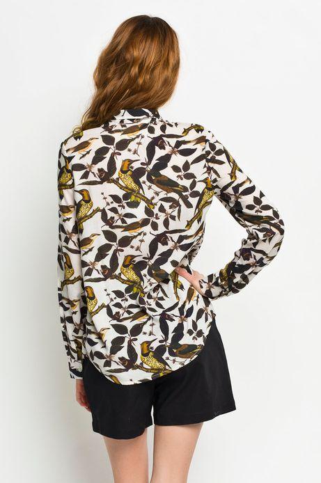 Woman's Koszula Rocking It Pattern Designed By Paperworks