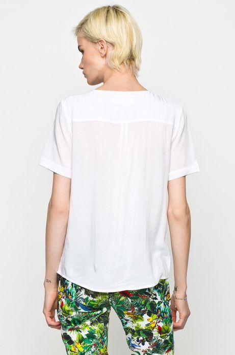 Woman's Bluzka koszulowa Cruising biała