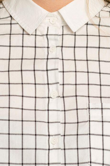Woman's Koszula Rocking It biała