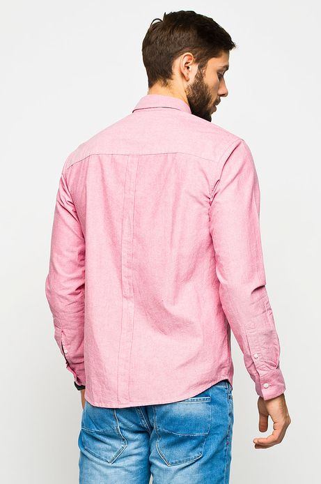 Man's Koszula Work In Progress różowa