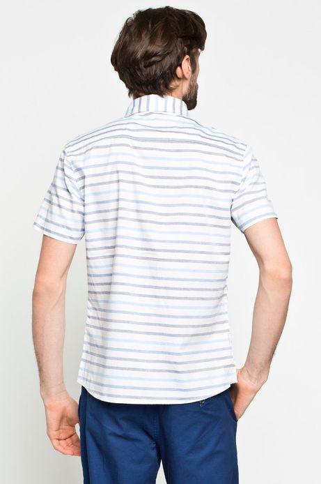 Man's Koszula Cruising biała