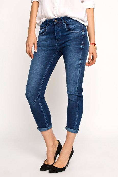 Woman's Jeansy Must Have granatowe