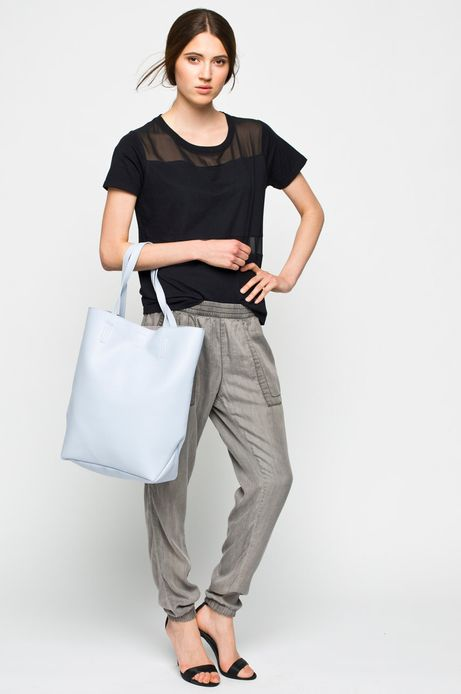 Woman's Spodnie Work In Progress szare