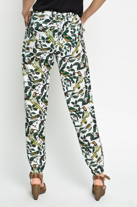 Woman's Spodnie Rocking It Patter Design by Paperworks