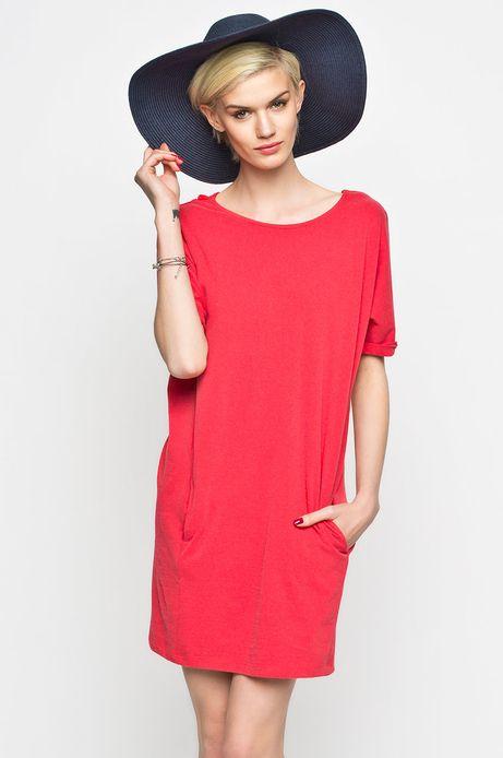 Woman's Sukienka RockingIt czerwona
