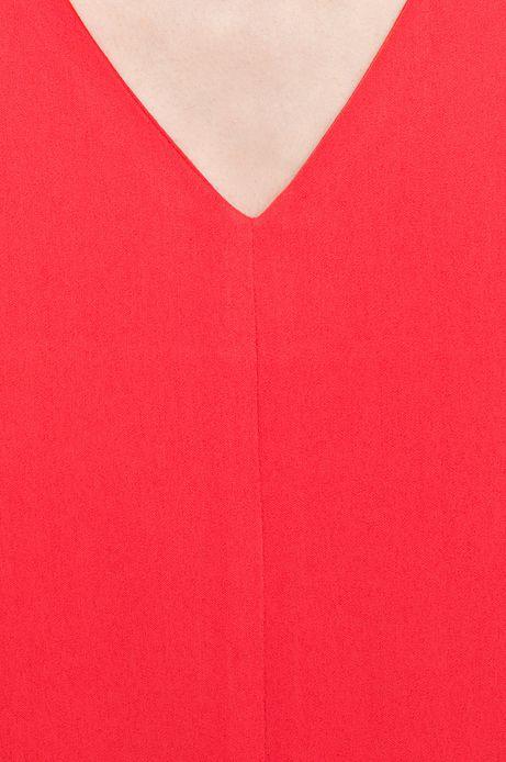 Woman's Sukienka Cruising czerwona