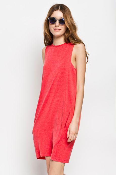 Woman's Sukienka Rocking It czerwona