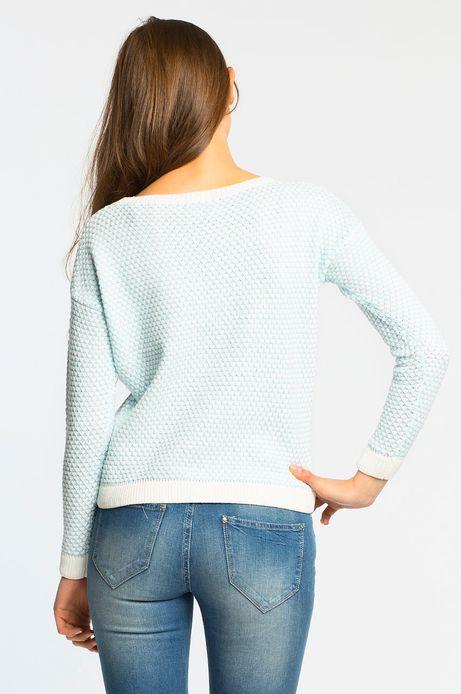 Woman's Sweter Cruising niebieski
