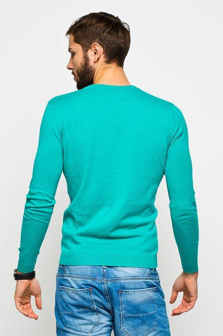 Man's Sweter Cruising niebieski