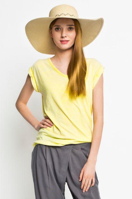 Woman's Top Rocking It żółty