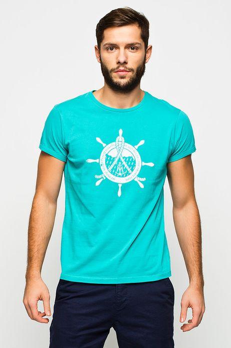 Man's T-shirt Cruising niebieski