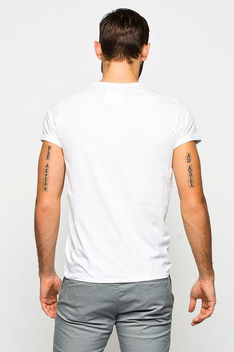 T-shirt Zuza Krajewska & Bartek Wieczorek for Medicine biały