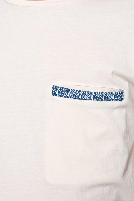 T-shirt Rocking It kremowy