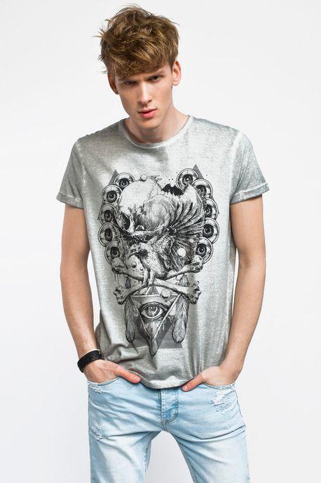 Man's T-shirt Grzegorz Wechterowicz for Medicine szary