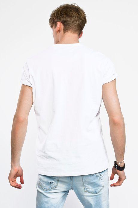 Man's T-shirt Rafał Wechterowicz for Medicine kremowy