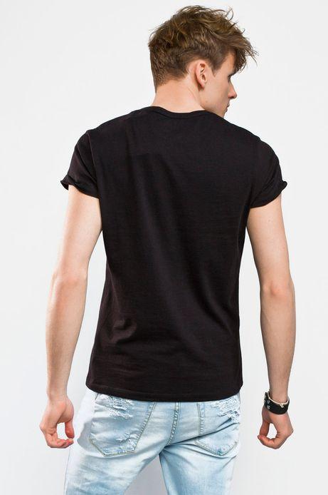 Man's T-shirt Rafał Wechterowicz for Medicine czarny