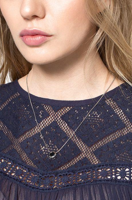 Woman's Naszyjnik Decadent srebrny