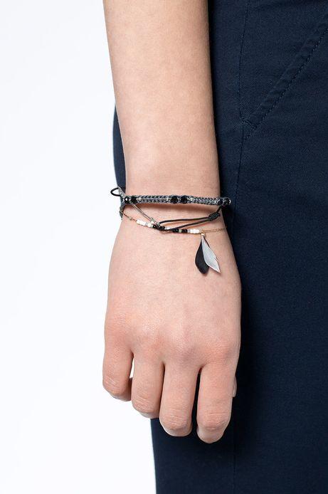 Woman's Komplet bransoletek Decadent srebrne srebrne