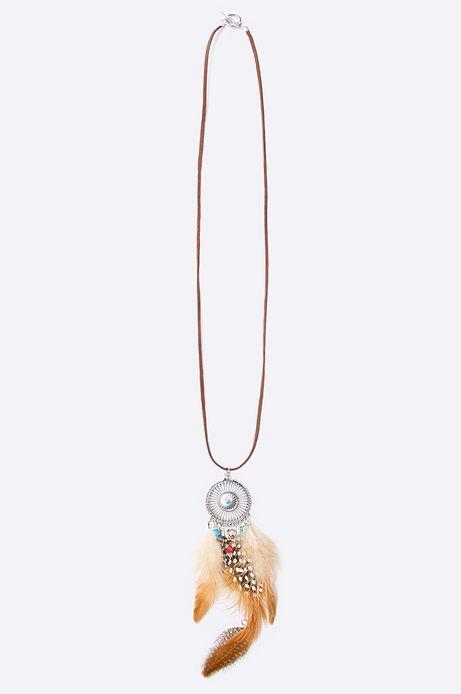 Woman's Biżuteria Artisan brązowa