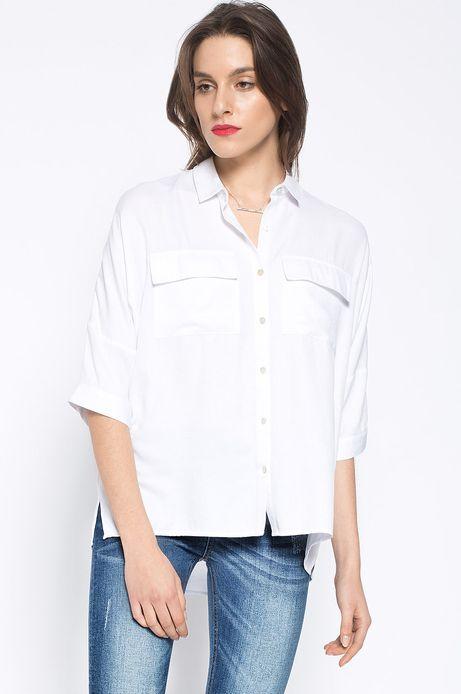 Woman's Koszula Decadent biała