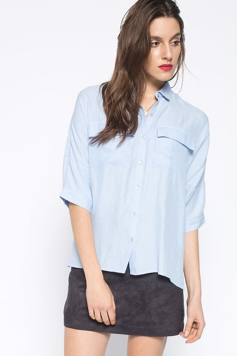 Koszula Decadent niebieska