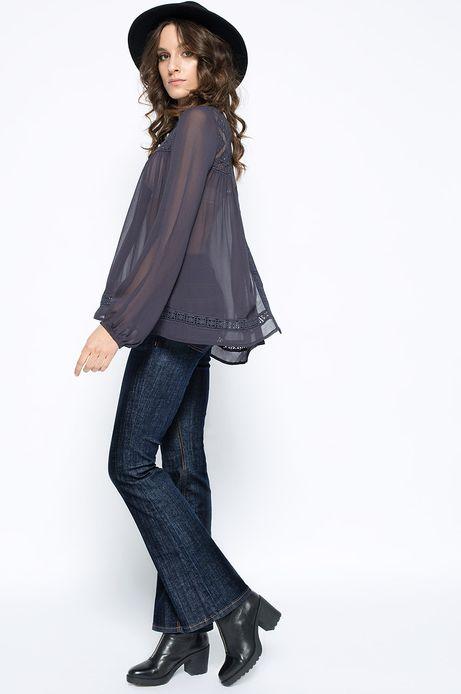 Woman's Koszula Decadent szara