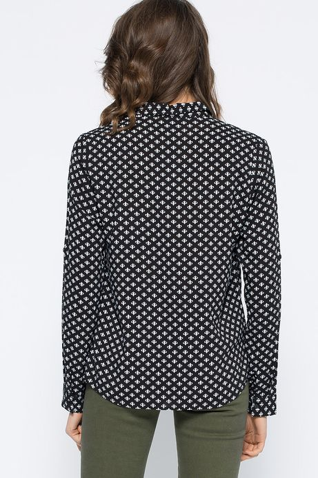 Woman's Koszula Decadent czarna