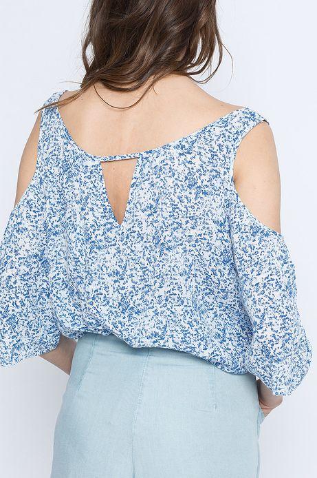 Woman's Top Artisan niebieski
