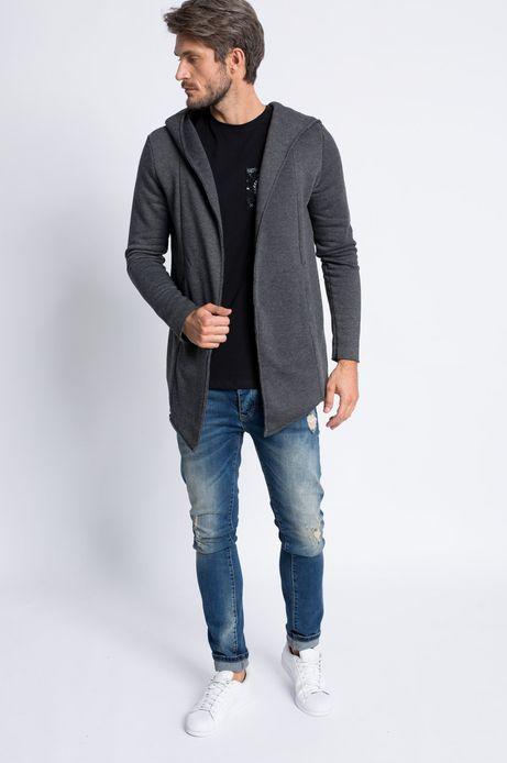 Man's Bluza Decadent szara
