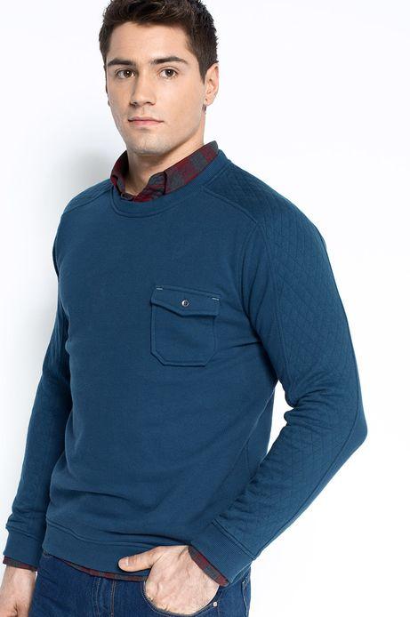 Man's Bluza Artisan granatowa