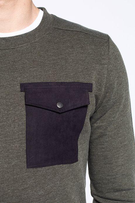 Man's Bluza Decadent zielona